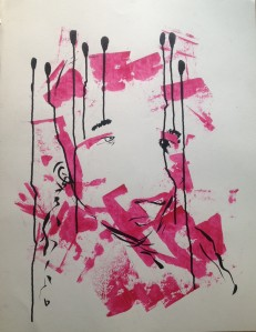 Peinture Rose TL.