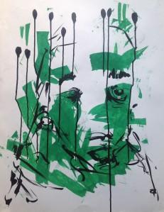 Peinture Verte TL.