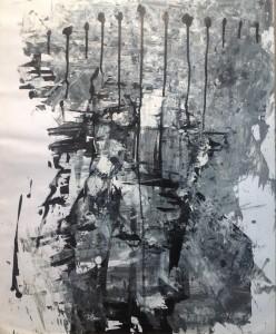 Peinture Noir et Blanc