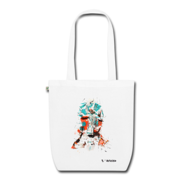 "Tote bag motif ""Alien Being"""