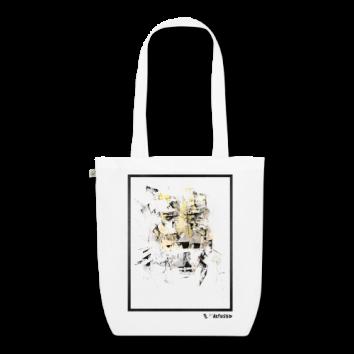 """Tote bag motif """"Metallic Ghost"""""""