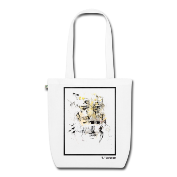 "Tote bag motif ""Metallic Ghost"""