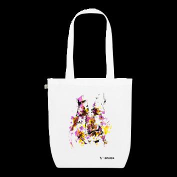 """Tote bag motif """"Origami Face"""""""