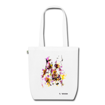 "Tote bag motif ""Origami Face"""