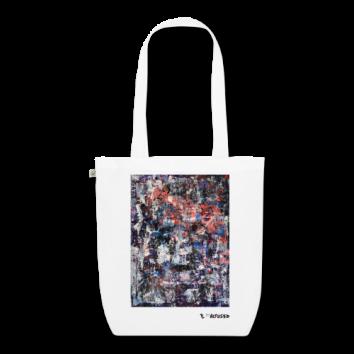 """Tote bag motif """"Visible World"""""""