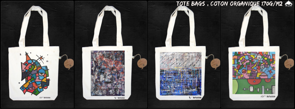 tote bags serie