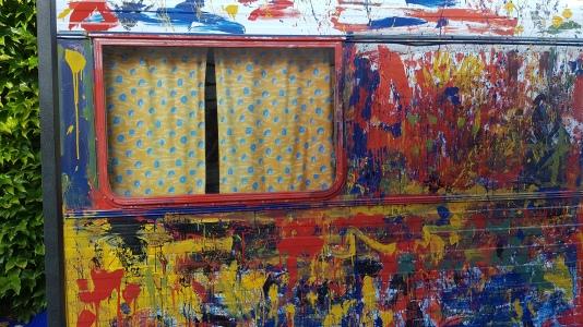 Fenêtre sur peinture