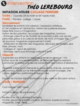 Atelier Collage / Peinture
